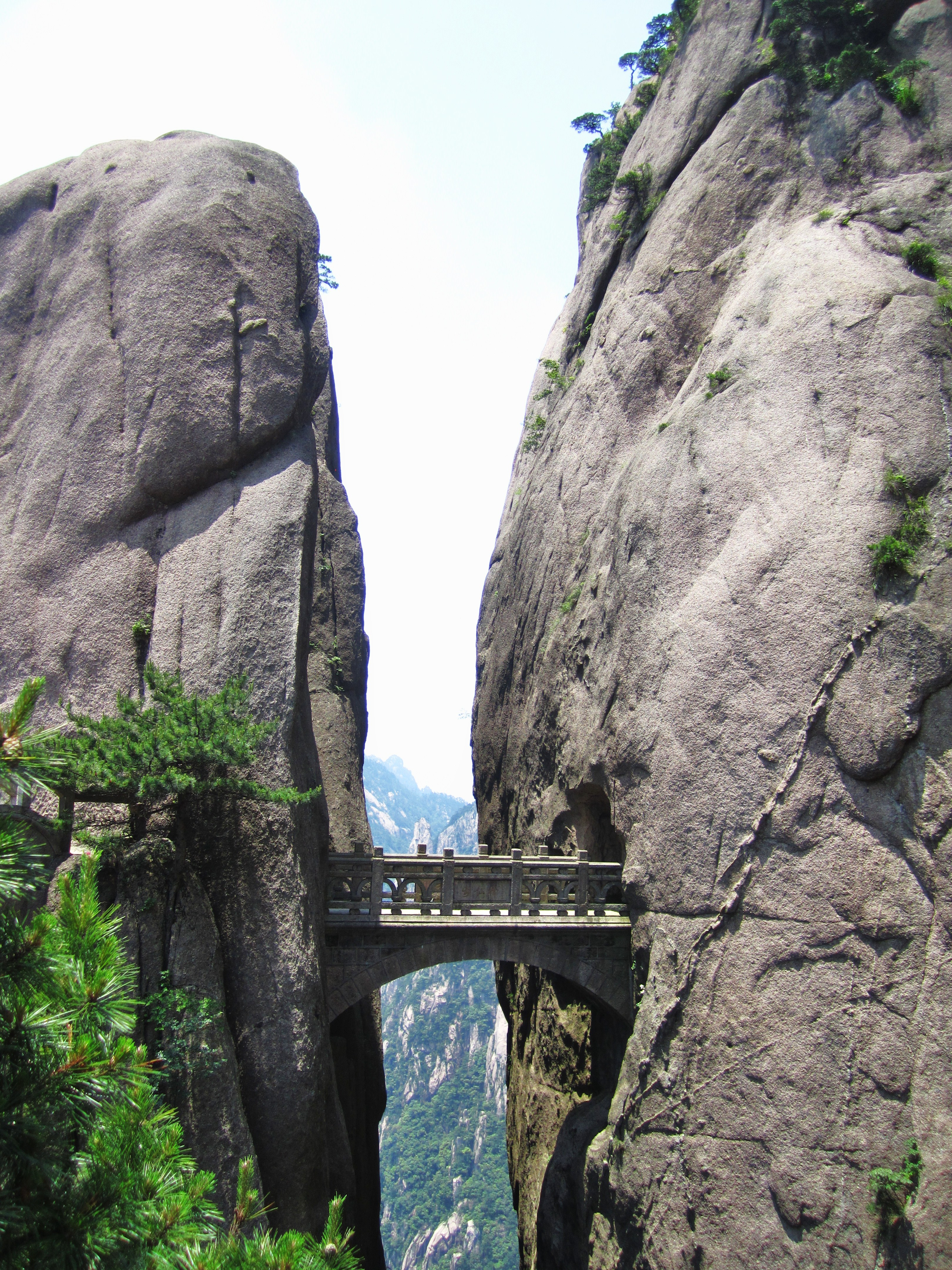 Fairy Bridge, Mt. Huangshan, Anhui, China